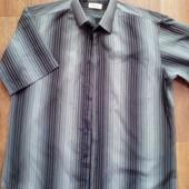 Фирменная мужская рубашка, наш р. 50-54, см. замеры