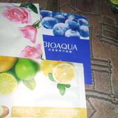 Качественная, тканевая маска от Bioaqua. в лоте 3 шт. по ставке можно докупить. новая
