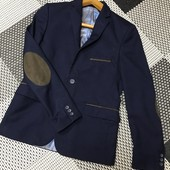 Пиджак с накладными локтями west fashion 11-13 років