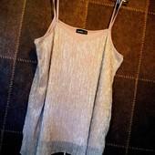 Супер √√ Пог 52-56 см ,красивая √√ свободная блузочка на бретелях ,в ~ и д е а л е.