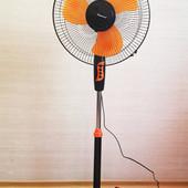 Вентилятор напольный Domotec FS-1619 fan с автоповоротом