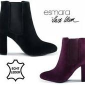 Крутая низкая цена! Esmara® 40-,41- натуральный замш ботинки Австрия качество