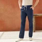 Отличные мужские льняные брюки Livergy Германия размер 52