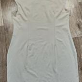 Бежевое платье, р.46-48