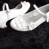 Танцевальные туфельки для принцессы размер 31-20,5 см