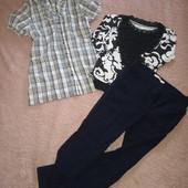Блузки, шерстяные брюки, бриджи, джинсы и реглан
