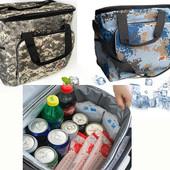 Термосумка, сумка - холодильник DT42 Cooling Bag 40 литров Камуфляж голубой