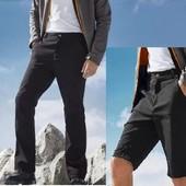 Трекинговые штаны от Crivit, евро р.54 (2 в 1) штаны/шорты (замеры в описании)