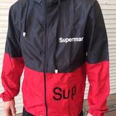 Ветровка мужская Supermar sup. Цена завораживает! 52, 54,56.
