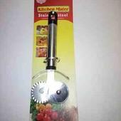 Нож роликовый для пиццы и теста 2в1