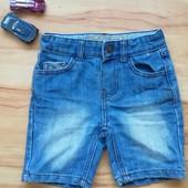 Детские шорты Denim&Co 92-98 размер с потертостями уп 15% нп 5% скидка!