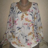 Шикарная блузка George пог 60