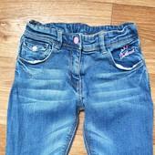 Собирай лоты) экономь на доставке)Красивые крутые джинсы для девочки 7-8 лет смотрите замеры