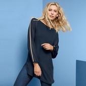 Стильная двухслойная блузка Tchibo(Германия), размер евро 44 (наш 50)