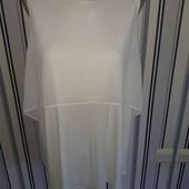 Комбінована маєчка-блуза George,розмір14(пог55)