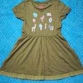 Платье для девочки Lupilu размер 98/104 ( 2-4 года )