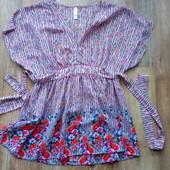 Блузка с коротким рукавом размер M