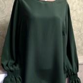 Собираем лоты!!! Блуза на пышную красу, размер 18