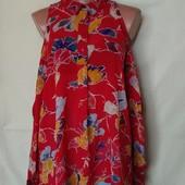 Лёгенькая фирменная блузочка из вискозы, грудь-110