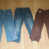 3 пары джинсов + 3 кофты для дома на 12-24 мес)читайте описание