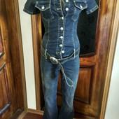 джинсовий комбінізон ,на високу ,худу дівчинку !!!!