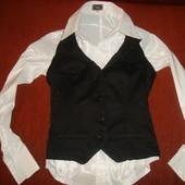 Жилет- корсет из плотного хлопка Pimkie размер XS блуза в подарок