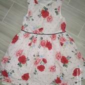 Красивое нежное платье на 3гола замеры на фото