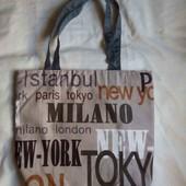 Текстильная эко сумка