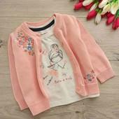 Кофта и футболка для малышки 3-6мес
