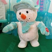 интерактивный снеговик
