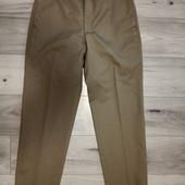 Фирменные новые коттоновые брюки-чиносы р.34-32 на пот-43-44,5