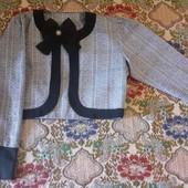 пиджак на девочку 12-13 лет(смотрите замеры)