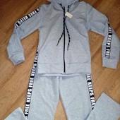 Спортивный костюм новый, унисекс, 128-134 смотрите замеры