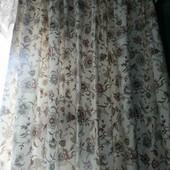 Красивенные, плотные шторы,2шт,167*130