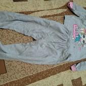 Две пижамы на байке 4-5 лет одним лотом