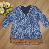 Очень красивая блуза-туника, р.50-52