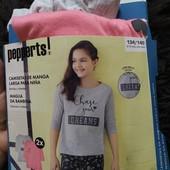 М65.Лот 2 шт,футболки з довгими рукавами Pepperts 134/140