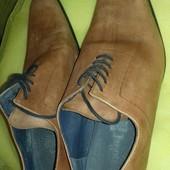 оочень класние красивие мужськие кожание туфли 45-того размера