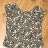 классная рубашка, блузочка на лето. расцветка супер. 100% коттон