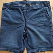 Стильные мужские джинсовые шорты Livergy (Германия), батал, размер евро 66