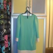 Мятное платье, размер М