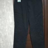 Фирменные новые коттоновые мужские брюки р.38-29 на пот-48-49,5 поб-62