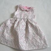 Нарядное платье F&F на 3-4,5 года