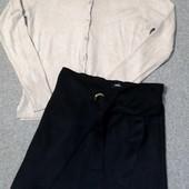 Собираем лоты!! Комплект новая юбка без бирки (сток) +мягкая кофта, размер s