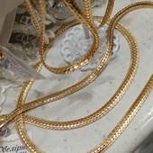 шикарный браслет, красивое плетение, панцирное с насечками 17.5 см, позолота 585 пробы