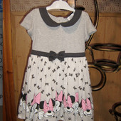 Качество!!! Эксклюзивное платьице от британского бренда George, 2-3 года, в хорошем состоянии