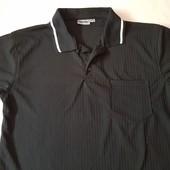 Мужская фирменная стильная футболка – поло Identic, размер M – L