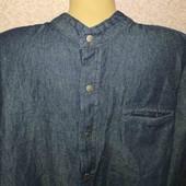 livergy.стильная катоновая рубашка  XL43/44