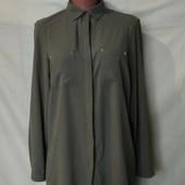 Фирменная блузочка с удлиненной спинкой, s/m/L