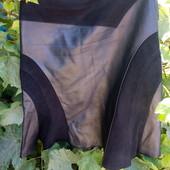 Кожаная юбка (натуральная итальянская кожа и замша)